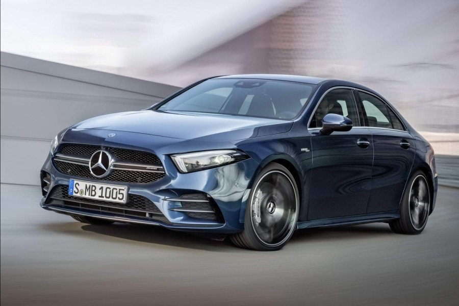 Car News | Mercedes A 35 is new baby AMG saloon | CompleteCar.ie