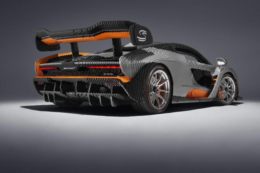 Car News | Lego and McLaren create stunning full-size Senna | CompleteCar.ie