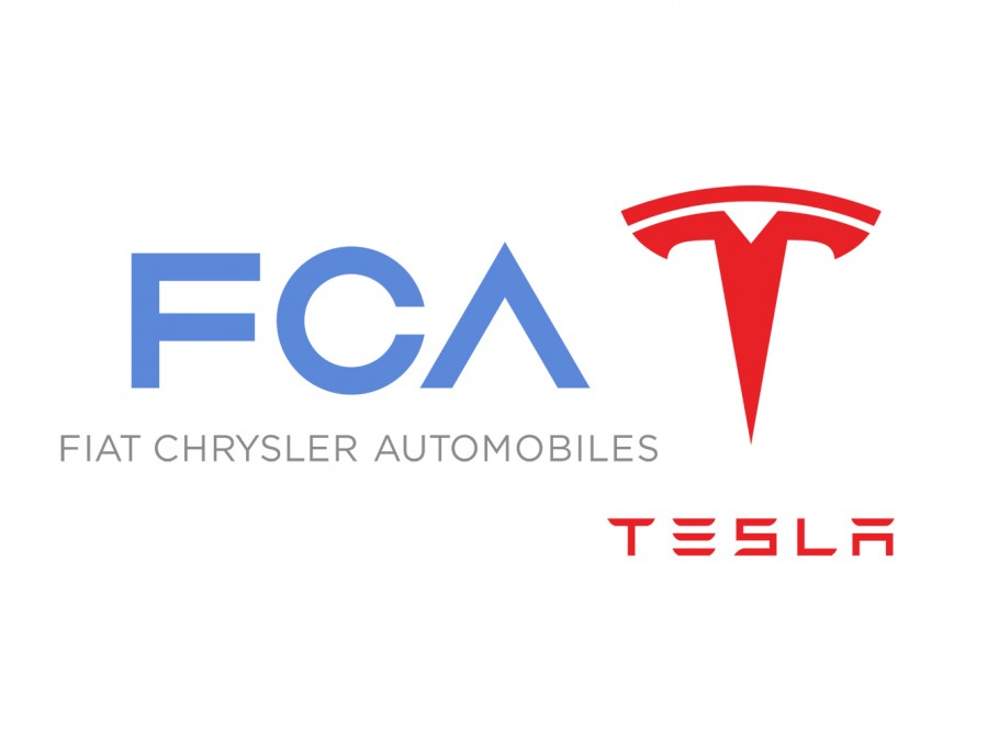Car Industry News | FCA pens deal with Tesla to pool CO<sub>2</sub> emissions | CompleteCar.ie