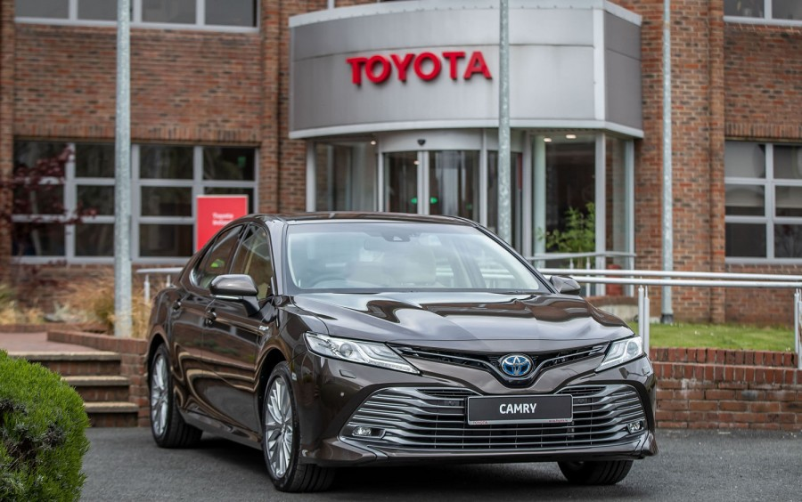 Car News | New Toyota Camry arrives in Ireland this week
