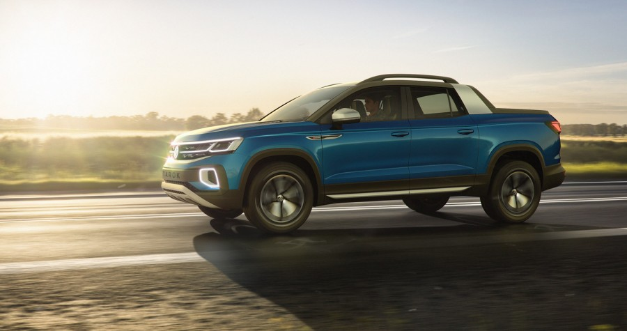 Car News | Volkswagen Tarok pickup concept