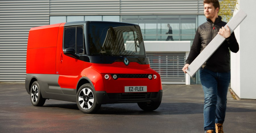 Car News | Renault EZ-FLEX electric delivery van