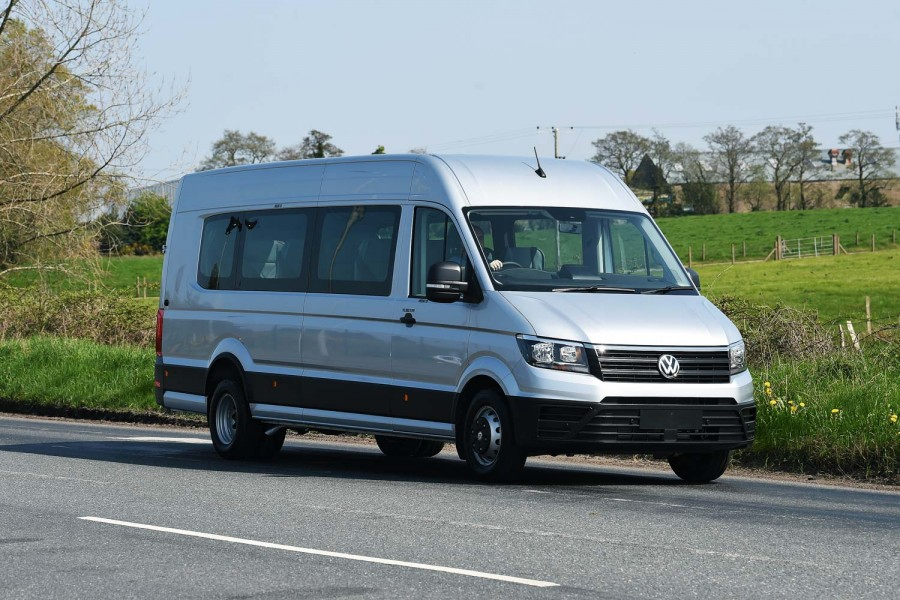 Car News | Northern Ireland-built Volkswagen crafter minibus | CompleteCar.ie