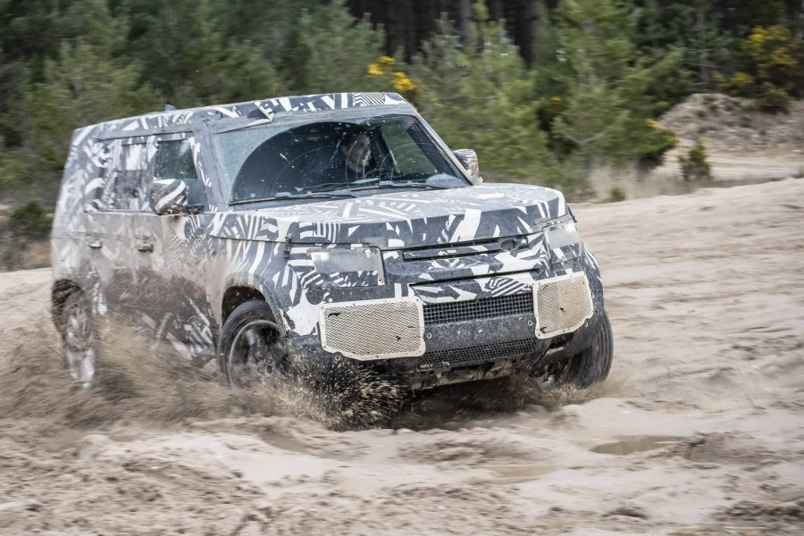 Car News | Land Rover teases new Defender | CompleteCar.ie