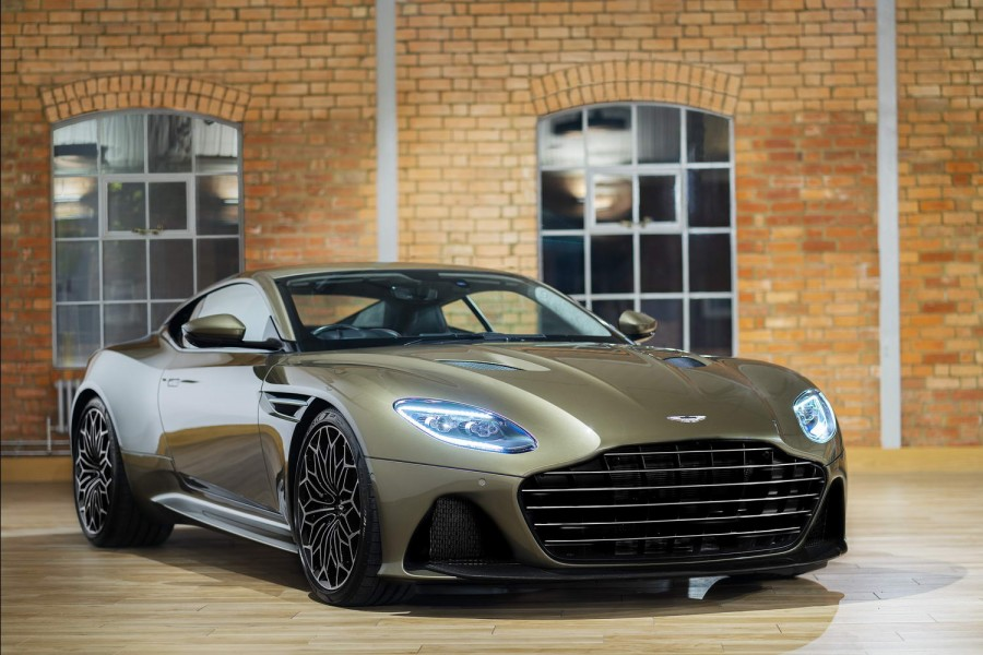 Car News | Aston DBS Superleggera gets Bond treatment