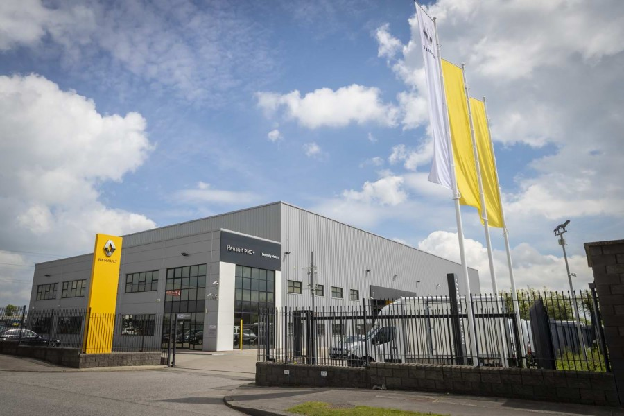 Car Industry News | New Renault Pro+ Centre opens in Dublin | CompleteCar.ie
