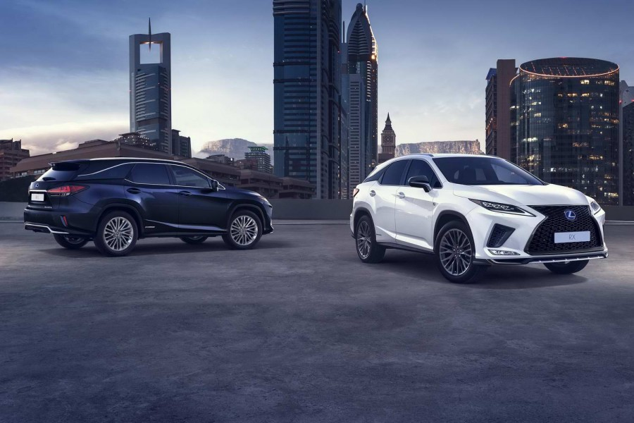 Car News | Lexus updates the RX hybrid SUV | CompleteCar.ie