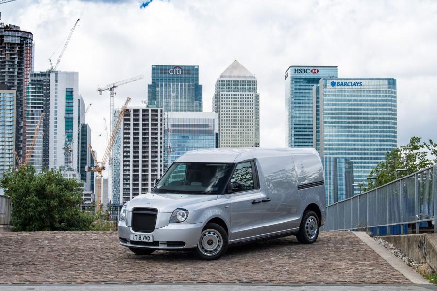 Car News | London taxi firm launches EV van | CompleteCar.ie