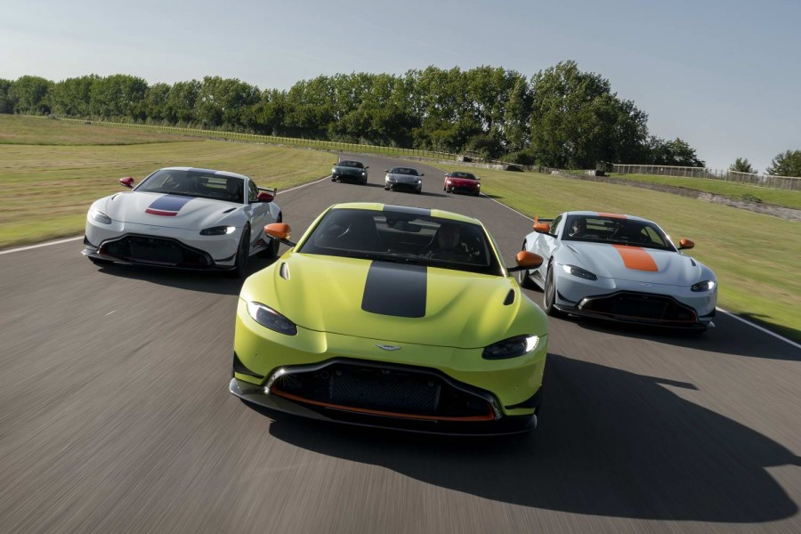 Car News | Aston launches heritage racing liveries | CompleteCar.ie