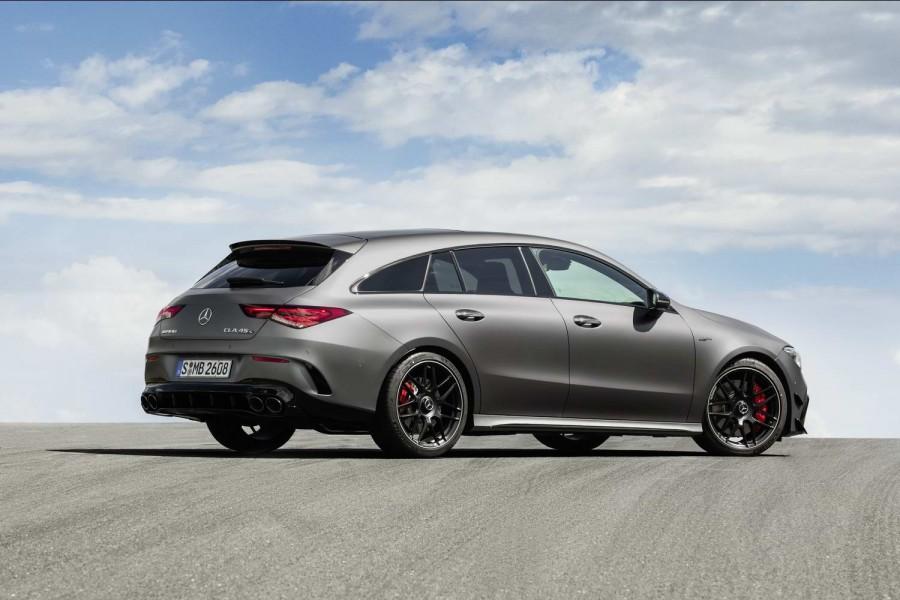 Car News | CLA Shooting Brake gets 421hp AMG power | CompleteCar.ie