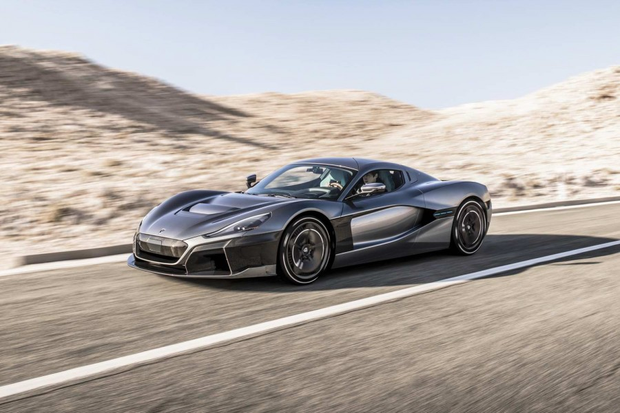 Rimac returns with 1,888hp C_Two