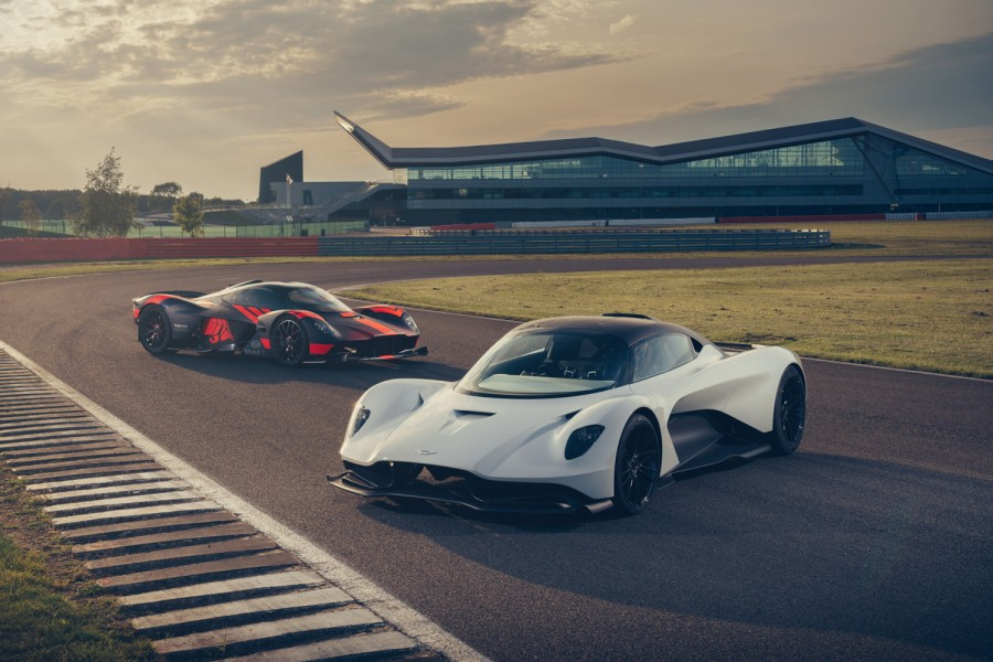 Car News | Aston's Valkyrie and Valhalla ride out | CompleteCar.ie