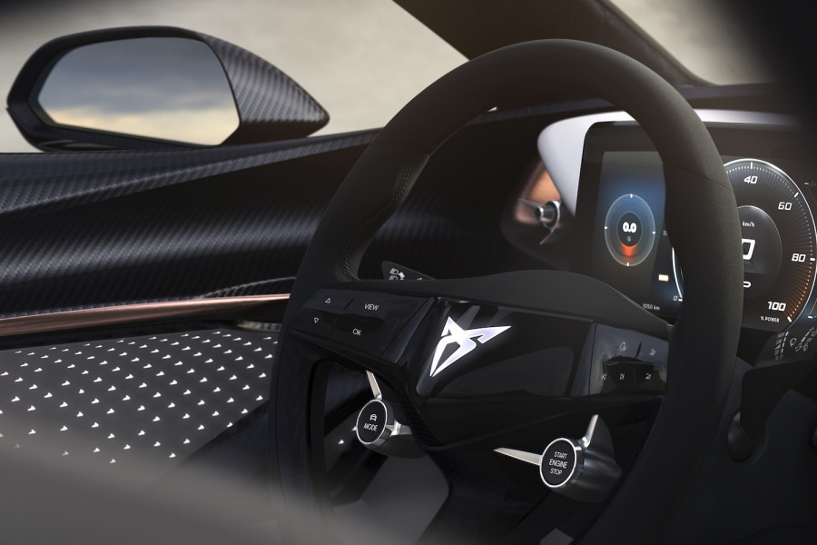 Car News | SEAT teases interior of new Cupra electric SUV