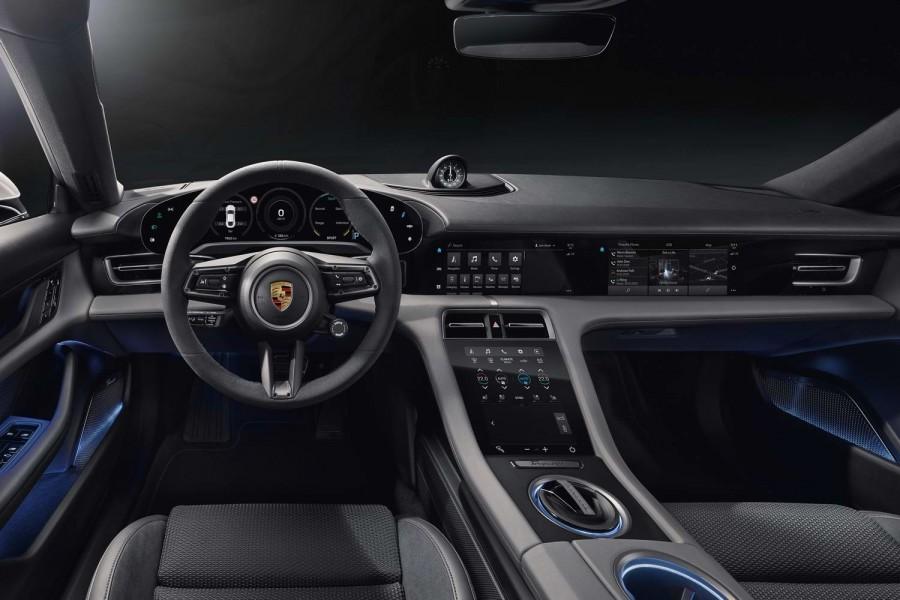 Car News | Porsche shows high-tech Taycan interior