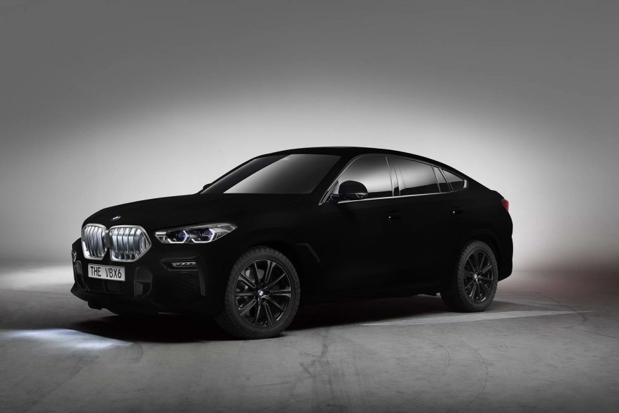 Car News | BMW creates 'world's blackest' X6 | CompleteCar.ie