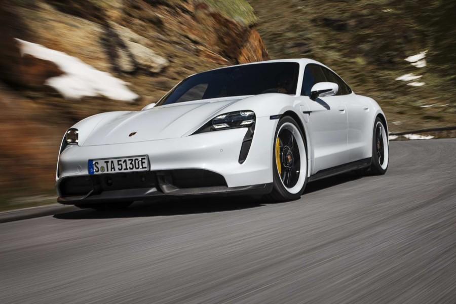 Car News | 2020 Porsche Taycan gallery | CompleteCar.ie