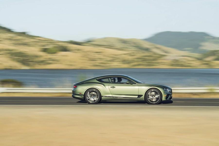 Car News | Bentley reveals new model year Continental GT | CompleteCar.ie