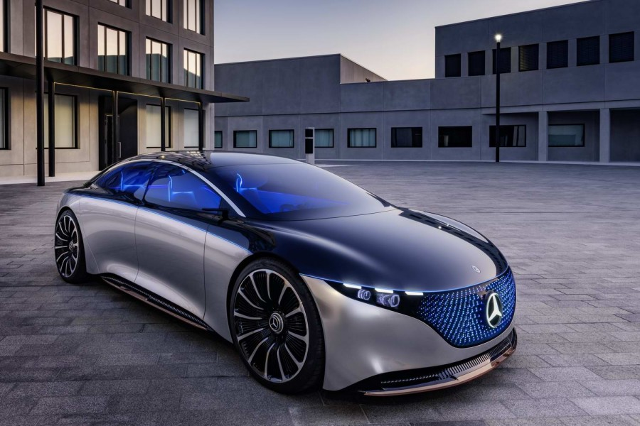 Car News | Mercedes posits 'electric S-Class' with EQS | CompleteCar.ie