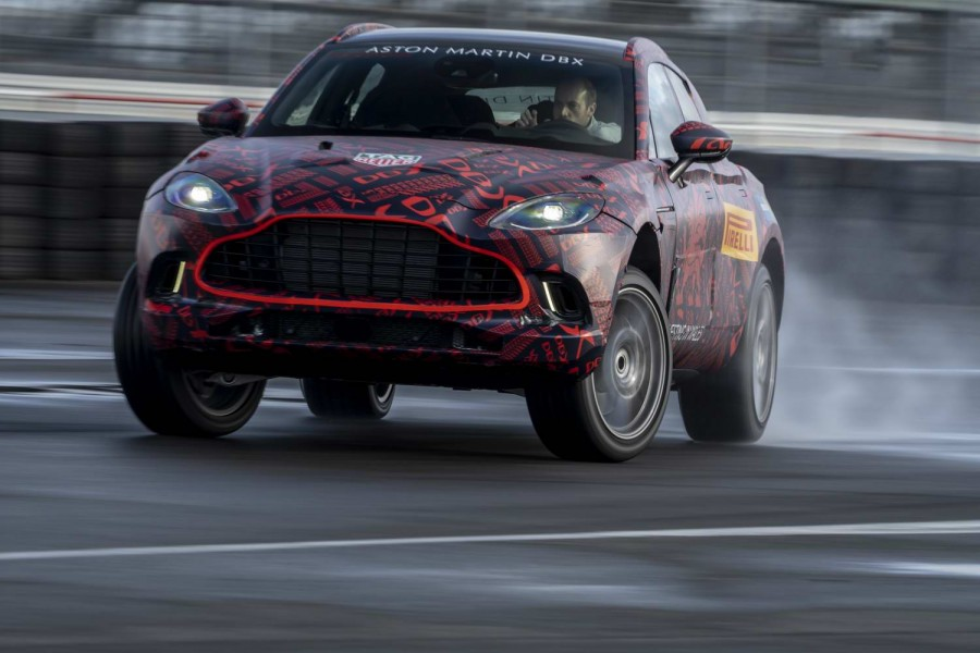Car News | Aston Martin DBX SUV enters final testing | CompleteCar.ie