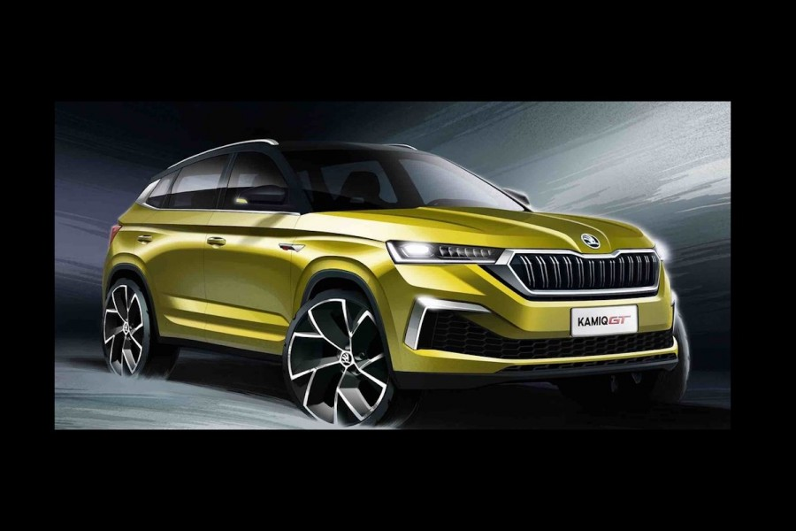 Car News | Sporty Skoda Kamiq GT heads east | CompleteCar.ie