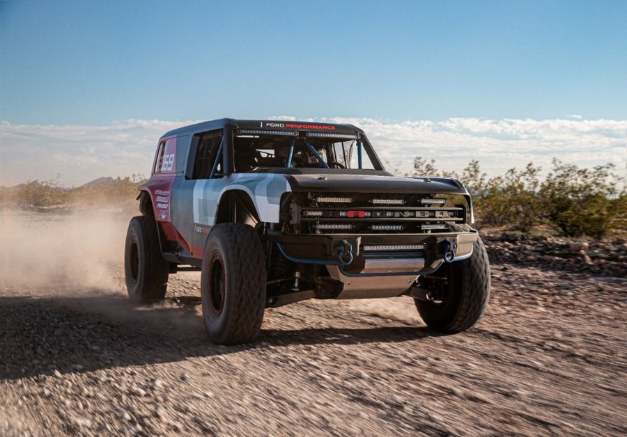 Car News | Ford Bronco R race prototype | CompleteCar.ie