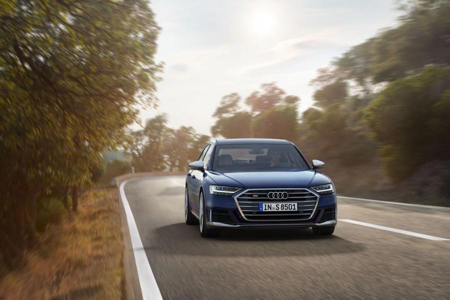 Car News   Audi reveals new S8 super-saloon   CompleteCar.ie