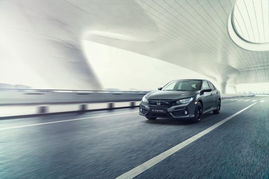 Car News   Honda Civic gets mid-life update   CompleteCar.ie
