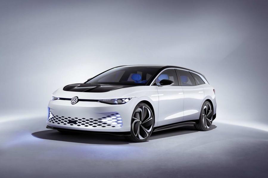 Car News   VW's electric ID Space Vizzion estate   CompleteCar.ie
