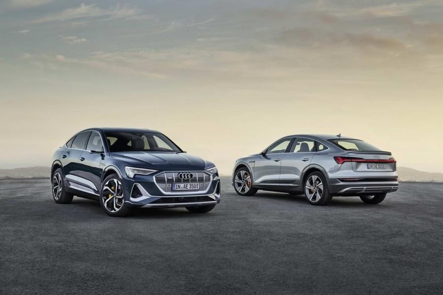 Car News   Sleek Audi e-tron Sportback in LA   CompleteCar.ie