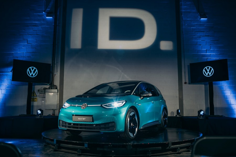 Car News | Electric Volkswagen ID.3 debuts in Ireland | CompleteCar.ie