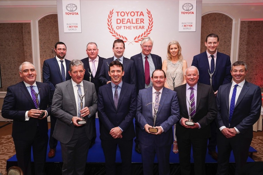 Car Industry News | Toyota Ireland Dealer of the Year Awards announced | CompleteCar.ie