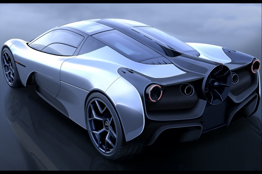 Car News | First image of Gordon Murray's new supercar surfaces | CompleteCar.ie
