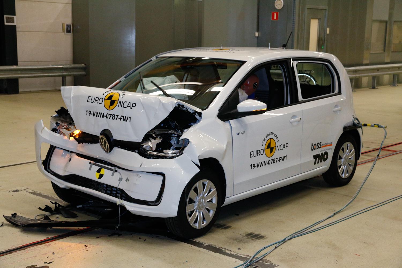 Car News   Volkswagen up! scores middling Euro NCAP result   CompleteCar.ie