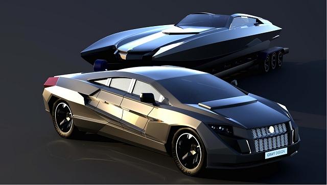 Car News | Yacht-towing armoured sportscar | CompleteCar.ie