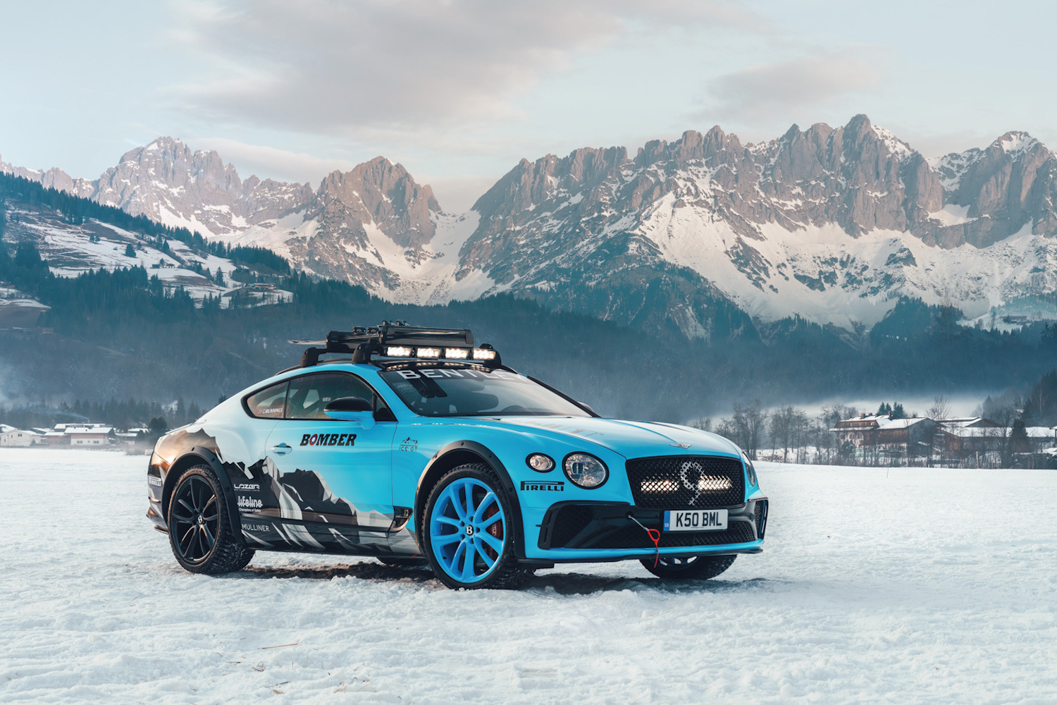 Car News | Bentley goes ice-racing for the first time | CompleteCar.ie