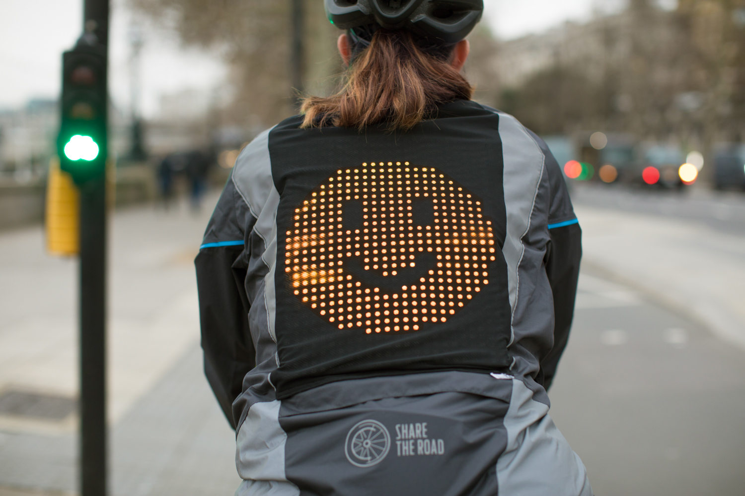 Car News | Ford designs an 'Emoji Jacket' for cyclists | CompleteCar.ie