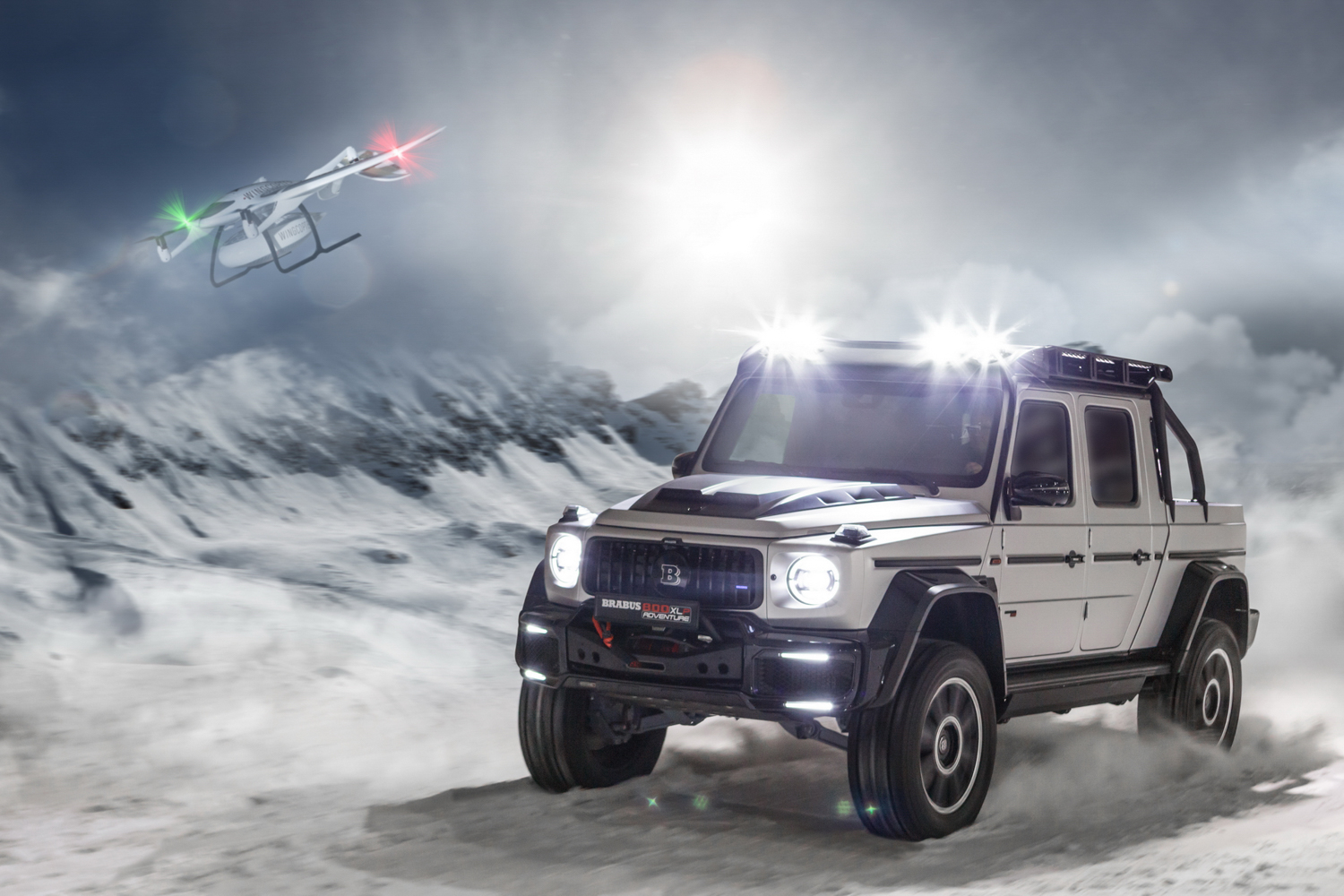 Car News | Brabus 800 Adventure XLP revealed | CompleteCar.ie