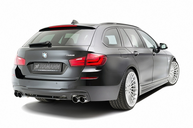 Car News | Hamann reveals its 5 Series Touring | CompleteCar.ie