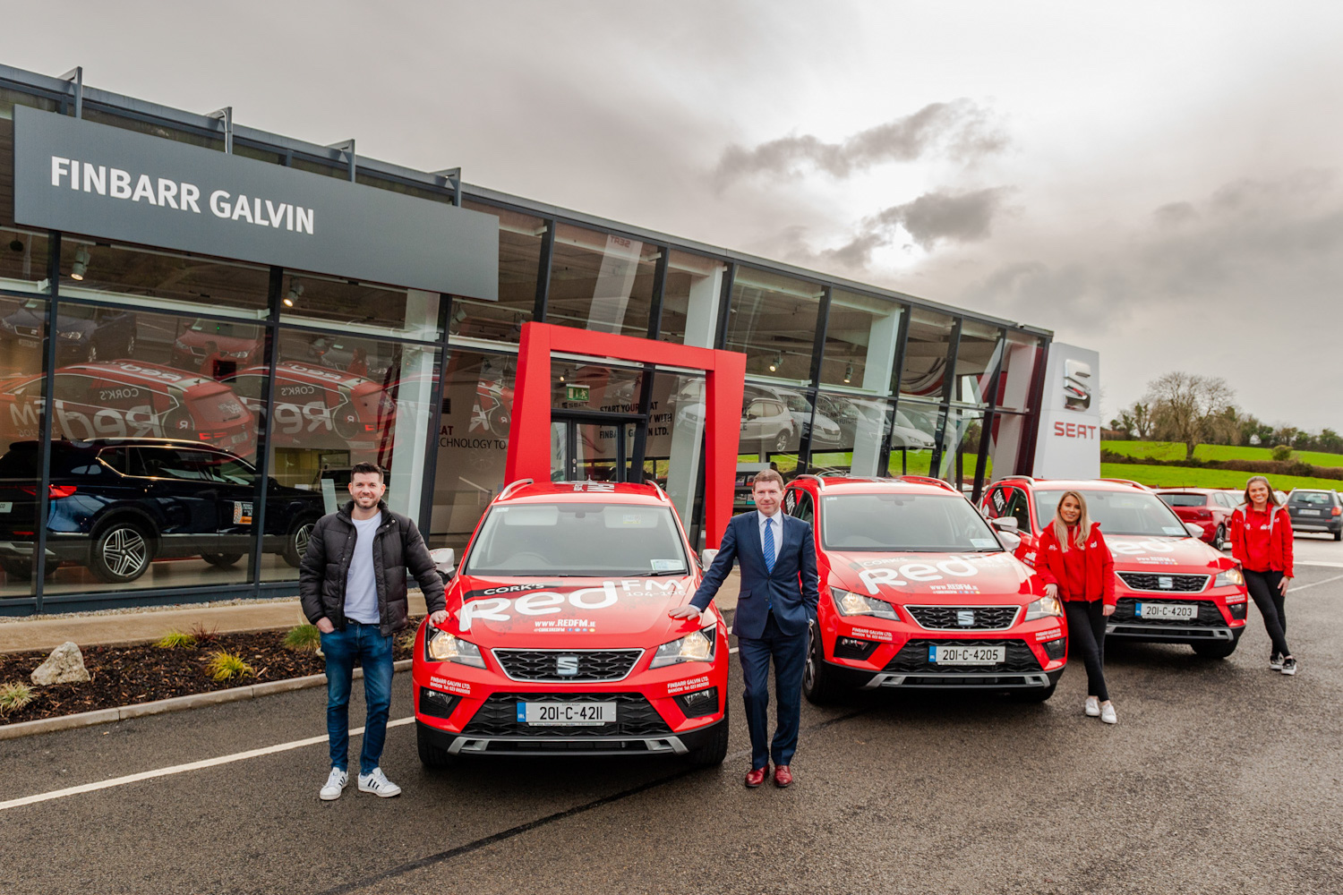 Car Industry News | SEAT names Finabarr Galvin Ltd as dealer of the year | CompleteCar.ie