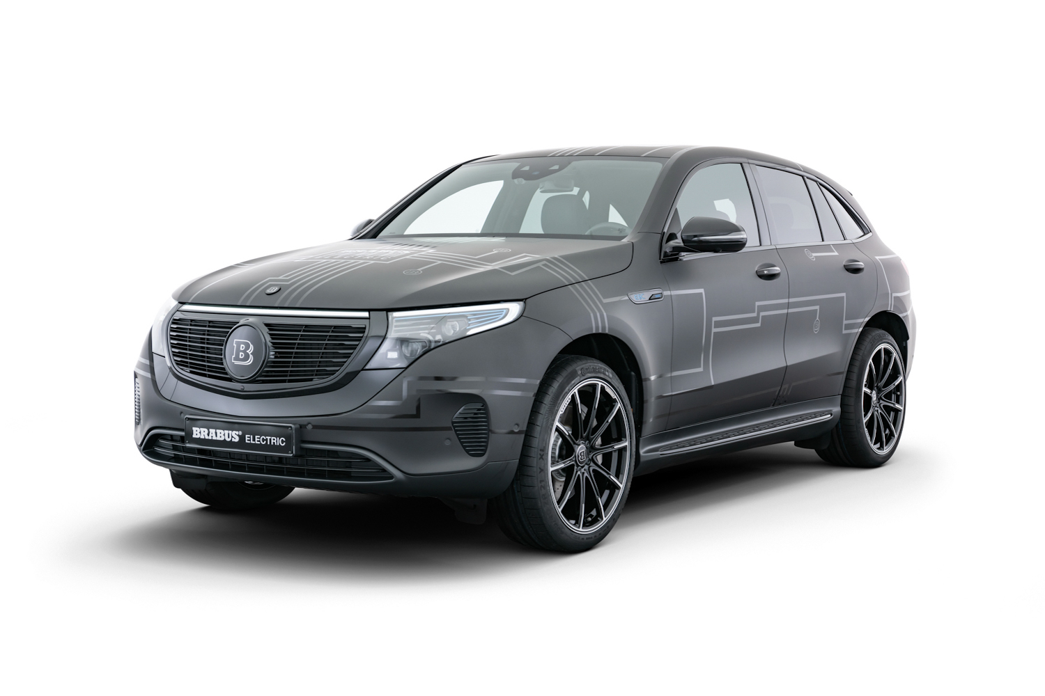 Car News | Brabus beefs up the Mercedes-Benz EQC | CompleteCar.ie
