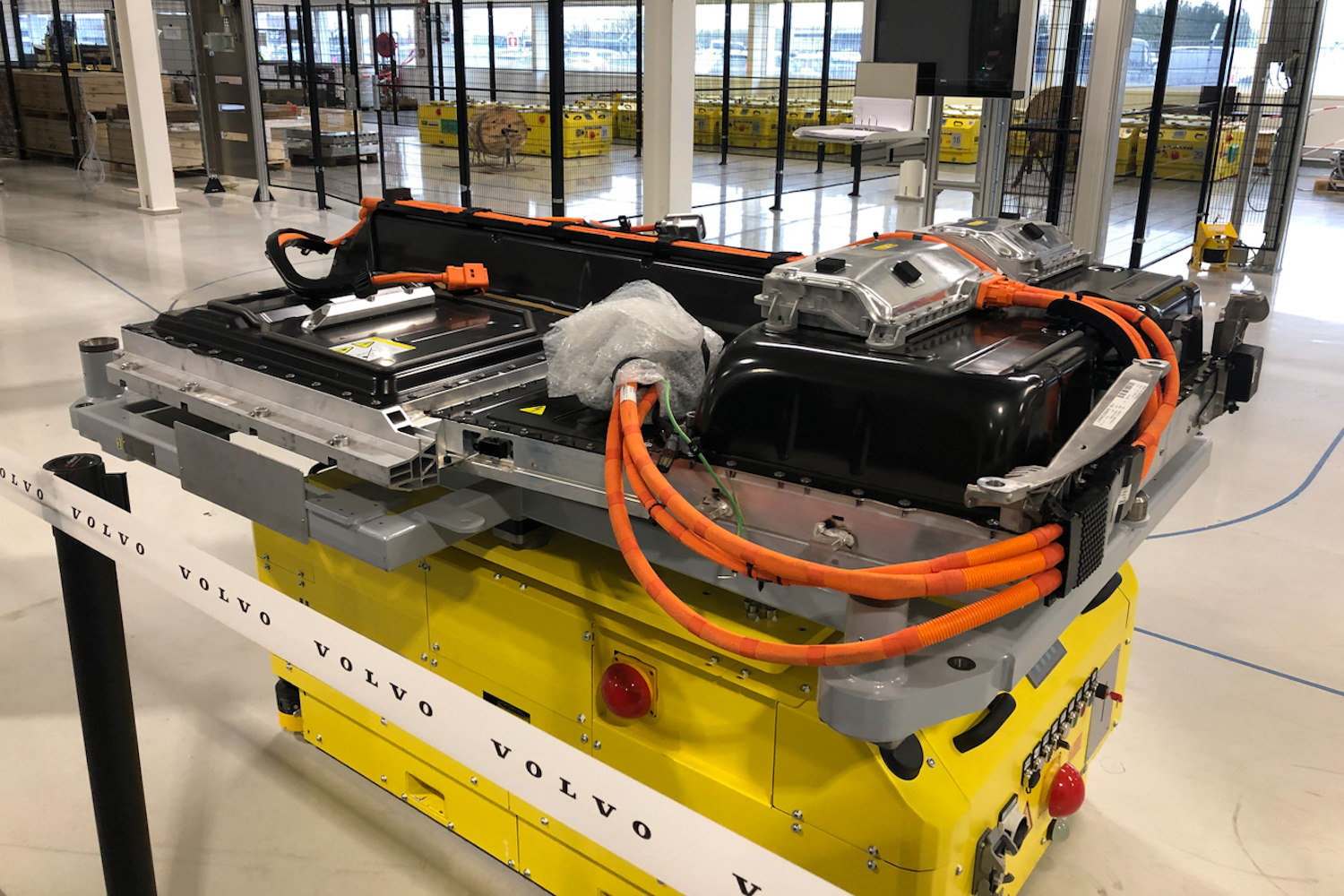 Car News | Volvo opens a new battery plant in Belgium | CompleteCar.ie