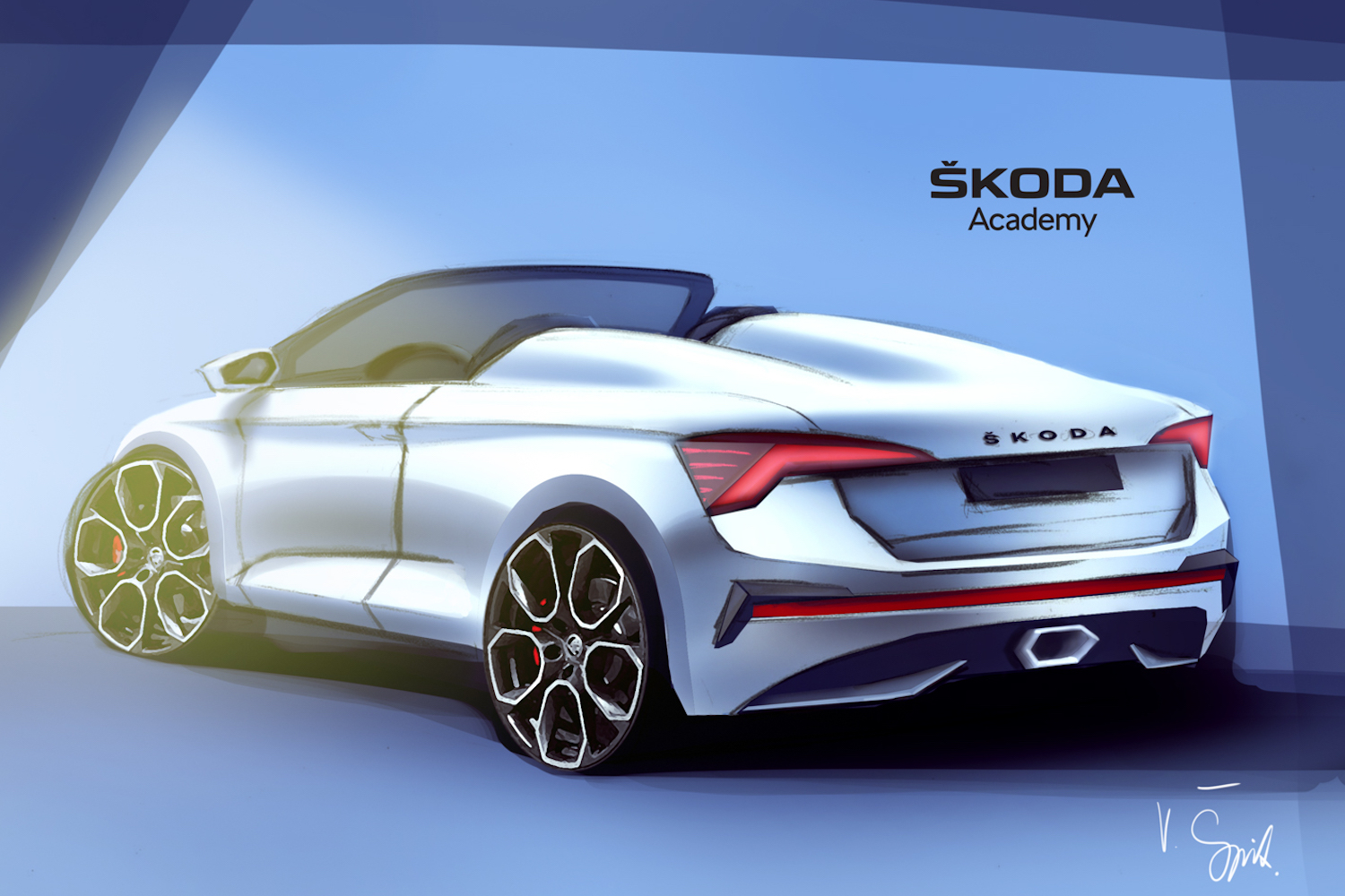 Car News | Skoda students dream up Scala Spider | CompleteCar.ie
