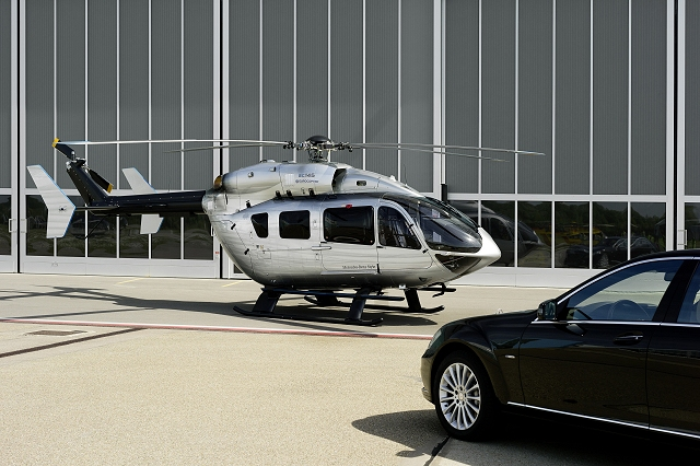 Car News | Mercedes reveals its first helicopter | CompleteCar.ie