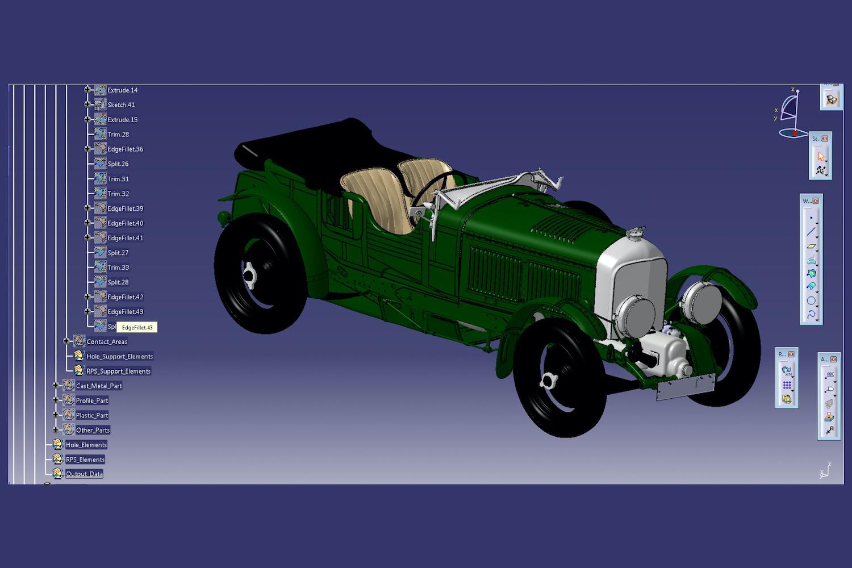 Car News   'Blower' Bentley goes fully digital   CompleteCar.ie