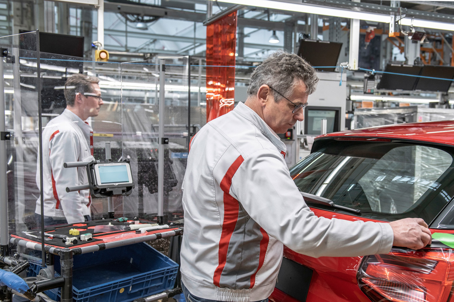 Car News   Audi beings slow, careful return to production   CompleteCar.ie