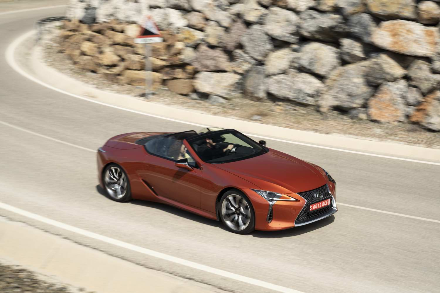 Car Reviews | Lexus LC 500 Convertible (2021) | CompleteCar.ie