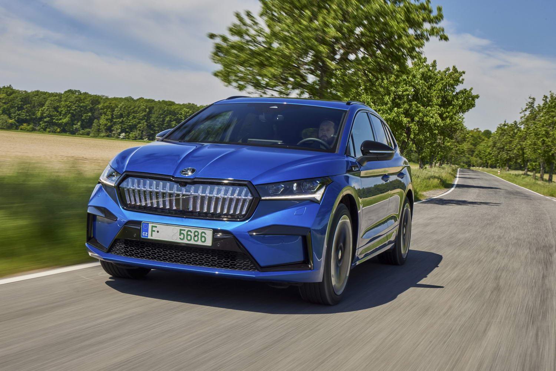 Car Reviews | Skoda Enyaq Sportline iV 80x (2021) | CompleteCar.ie