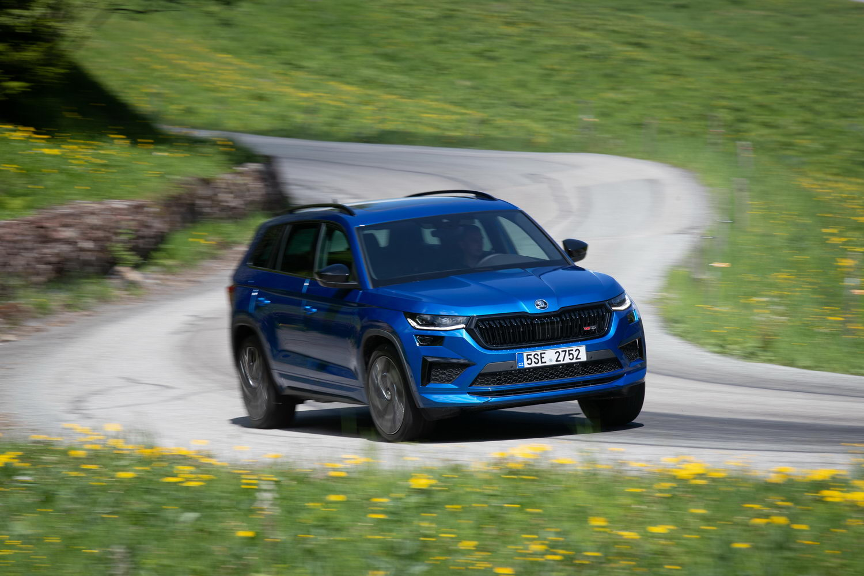 Car Reviews   Skoda Kodiaq RS petrol (2021)   CompleteCar.ie