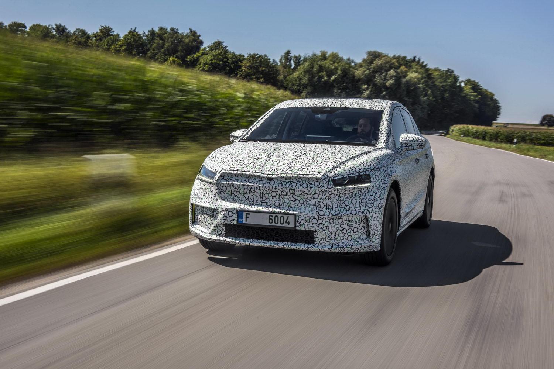 Car Reviews | Skoda Enyaq Coupe iV prototype (2022) | CompleteCar.ie