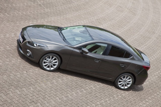 Car Reviews | Mazda 3 saloon (pre-production) | CompleteCar.ie